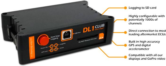 Racing Data Logger : Dl club race technology ltd automotive technical